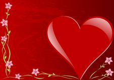 Free Valentines Day Card Royalty Free Stock Images - 9834029