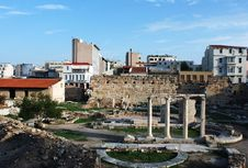 Free Archaeological Site Royalty Free Stock Image - 9834116