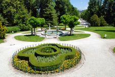 Tivoli Park Gardens Stock Photography