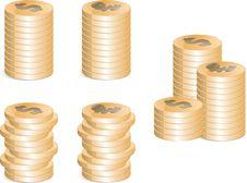 Free Golden Coins Stock Photos - 9834673