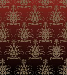 Floral Background. Vector Illustration. Royalty Free Stock Photo