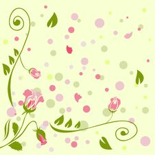Free Rose Background Stock Image - 9836401