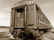 Passenger Wagon Stock Photo