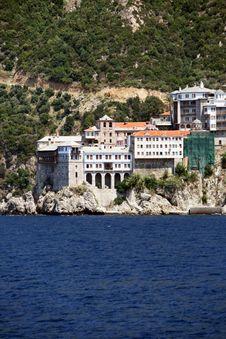 Free Athos S Monastery Royalty Free Stock Photos - 9837218