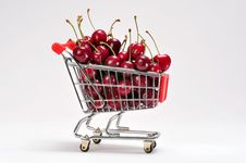 Free Cherries Royalty Free Stock Images - 9839039