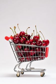 Free Cherries Royalty Free Stock Photography - 9839067