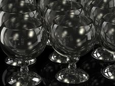 Free Wine Glass Royalty Free Stock Photography - 9839467