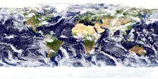 Free Blue Earth Globe Stock Image - 98351731