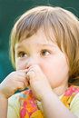 Free Baby In Garden Stock Image - 9843641