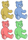 Free Teddy Bears Boy Girl Stock Image - 9847441