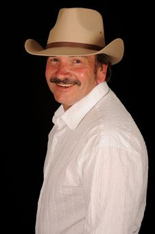 Free Smiling Man Stock Image - 9840141