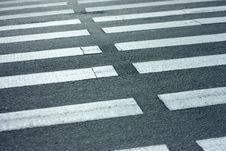 Free Pedestrian. Zebra. Stock Photography - 9840252