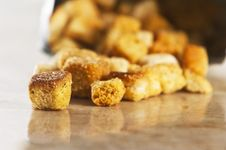 Free Crouton Stock Photography - 9841032