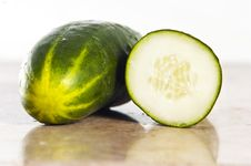 Free Cucumber Royalty Free Stock Photography - 9841057
