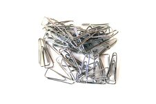 Free Paperclip Royalty Free Stock Photos - 9841198