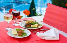 Free Served Breakfast Royalty Free Stock Image - 9841246