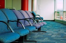 Free Airport Passenger Lounge Stock Photo - 9841300