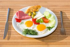 Free Served Breakfast Royalty Free Stock Photos - 9841408