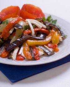 Free Vegetable Ragout Royalty Free Stock Image - 9842236