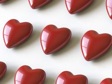 Free Heart Collection - Push Here Stock Photo - 9842840