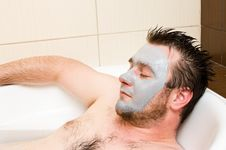 Free Spa Man Stock Images - 9843454