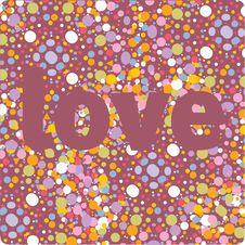 Free Vector Love Design Stock Image - 9844441