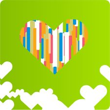 Free Vector Love Design Royalty Free Stock Images - 9844449