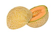Free Two Halves Of Melon Stock Images - 9844644