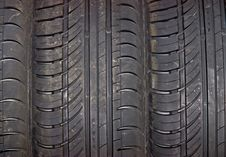 Close-up Of Car Tire Background Stock Image