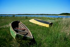 Free Boats On Saaremaa Island Stock Image - 9846451