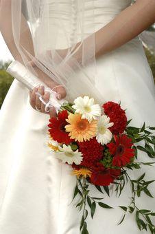 Free Bridal Bouquet Stock Images - 9846694