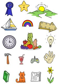 Free Objects Icons Stock Photos - 9847393