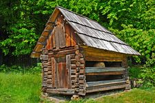 Cabin Of Poor Peasant Royalty Free Stock Photography