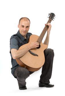 Free Guitar Player Royalty Free Stock Image - 9847716