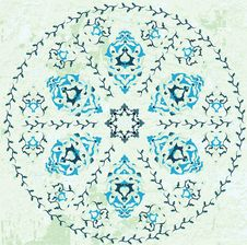 Free Antique Ottoman Grungy Wallpaper Raster Design Stock Photography - 9847912