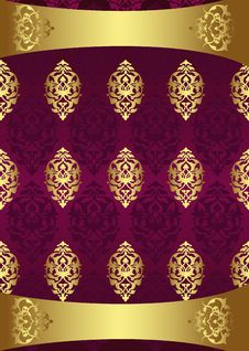 Free Antique Ottoman Gold Design Royalty Free Stock Images - 9848349