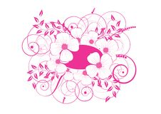 Free Abstract Floral Background Stock Photography - 9848482
