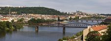 Prague S Bridges Stock Images