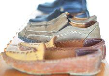 Free Shoes Shelfs Royalty Free Stock Image - 9848686