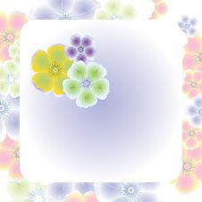 Free Abstract Floral Background Stock Photography - 9848712