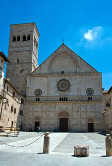 Free Cathedral Of Assisi Stock Photography - 9848822