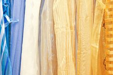 Free Curtains Stock Photography - 9849802
