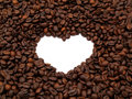 Free Crowd Of Coffee Beans Heart Shape Stock Photos - 9856113