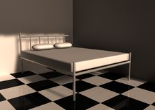 Free Bed Royalty Free Stock Images - 9850199