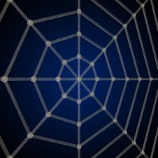Free Spider Net Stock Image - 9850211
