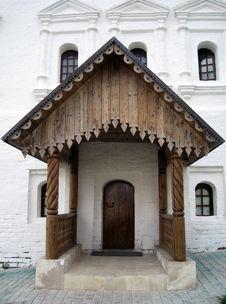 Zvenigorod Monastery Porch Stock Photography
