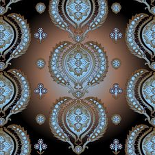 Free East Decorative Pattern Stock Photography - 9853232