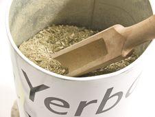 Free Dry Yerba Mate Royalty Free Stock Photo - 9853735