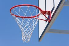 Free Basketball Hoop Royalty Free Stock Photography - 9854237