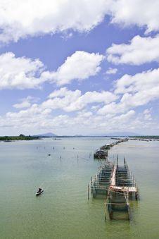 Free Fisherman Village In Eastern Thailand Royalty Free Stock Photos - 9854248